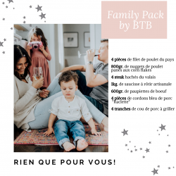 Family pack by BTB