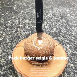 """Pack Burger """"Le Rustique"""" 2..."""